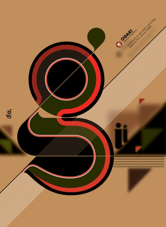 Modernist Typography by Aron Jancso