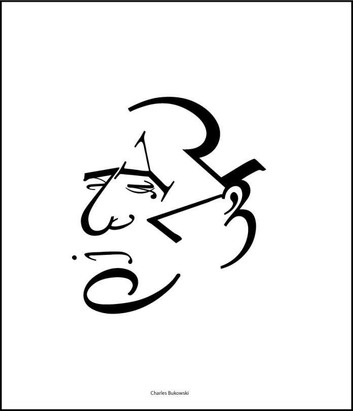 Typographic Bukowski By Darknez